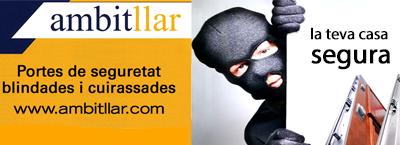 Ambitllar; Portes de seguretat blindades i cuirassades